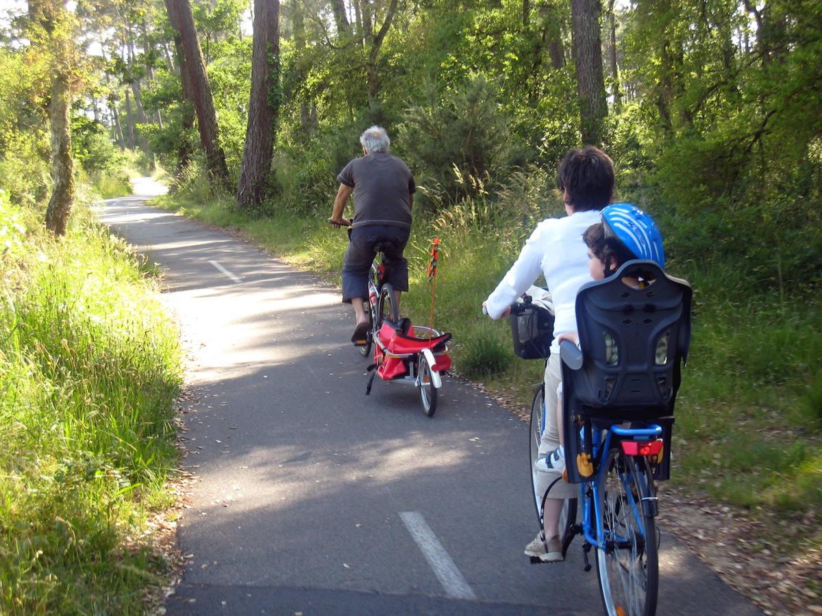 Tarnos Plage - Ondres Plage par la piste cyclable