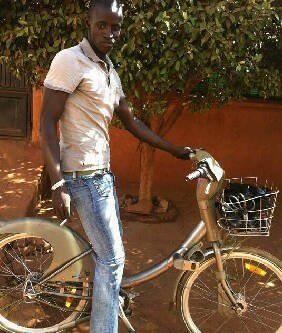Un Velib à Bamako