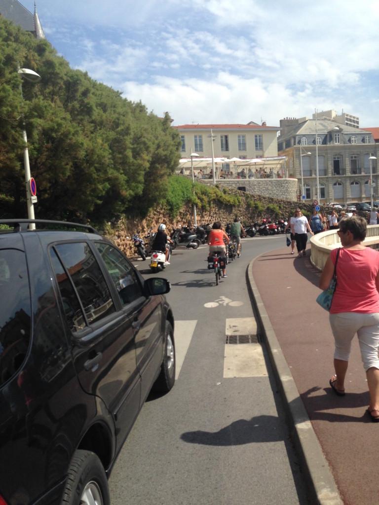 Biarritz 64 pyr n es atlantiques pistes cyclables for Piscine municipale biarritz