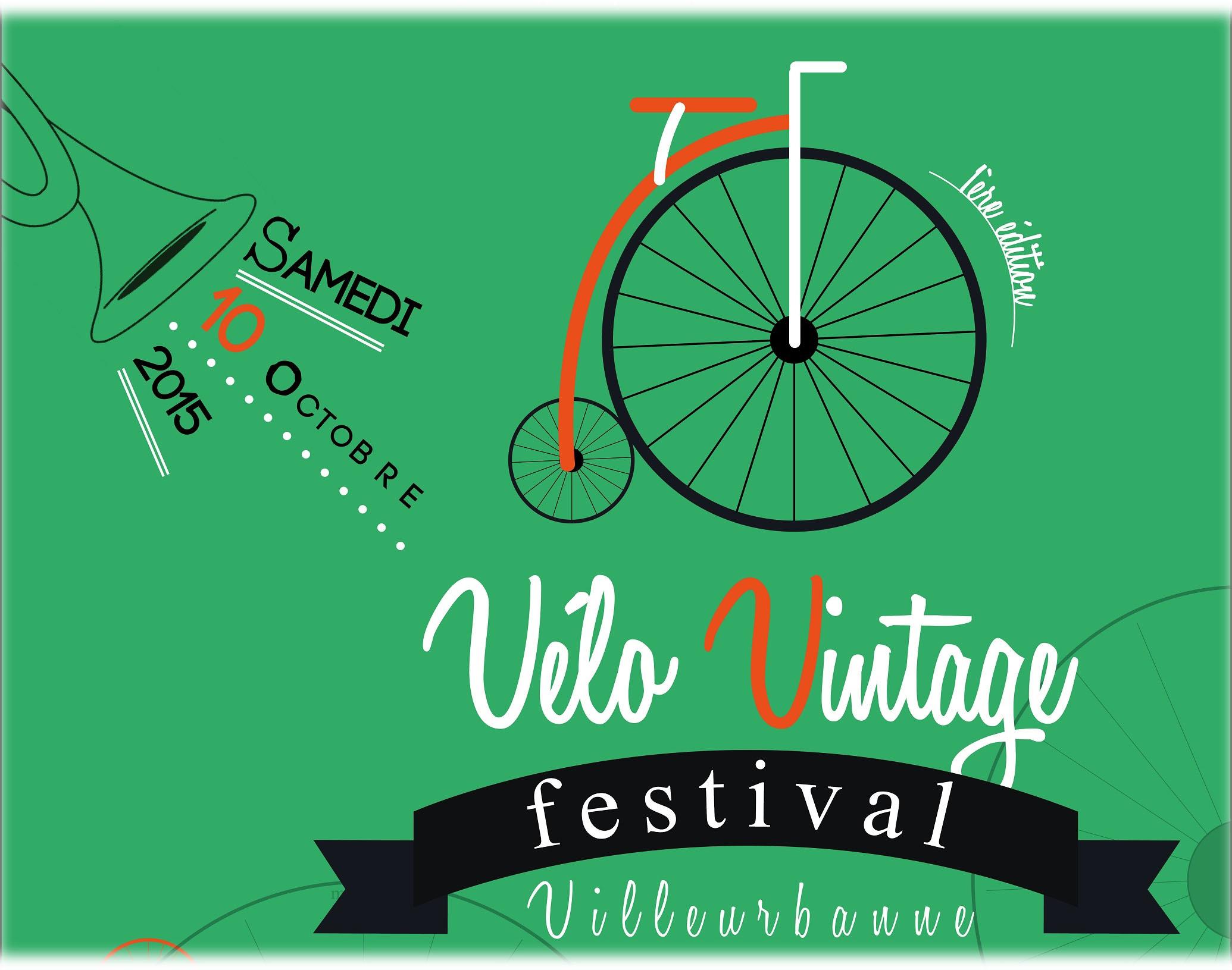 Nous roulons pour le 1er vélo Vintage Festival !