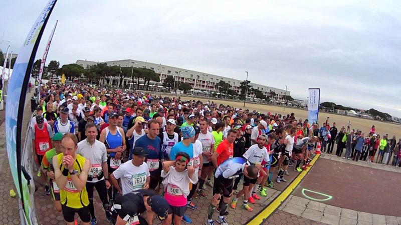 Marathon de la Côte de Beauté, plus de 2200 coureurs sur la piste cyclable