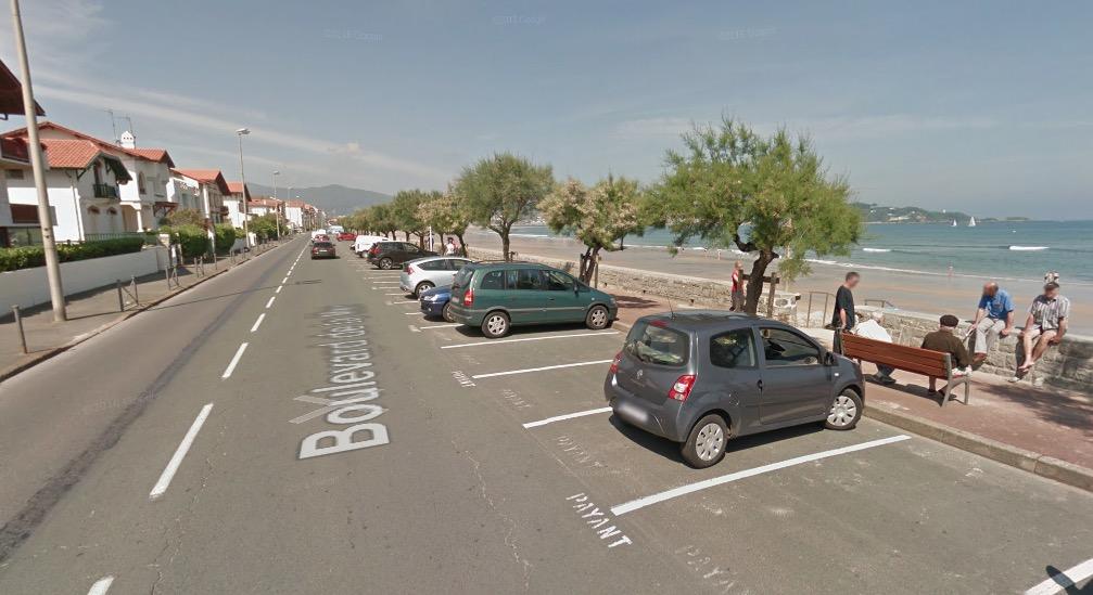 A Hendaye (64), le boulevard de la Mer continue sa transformation