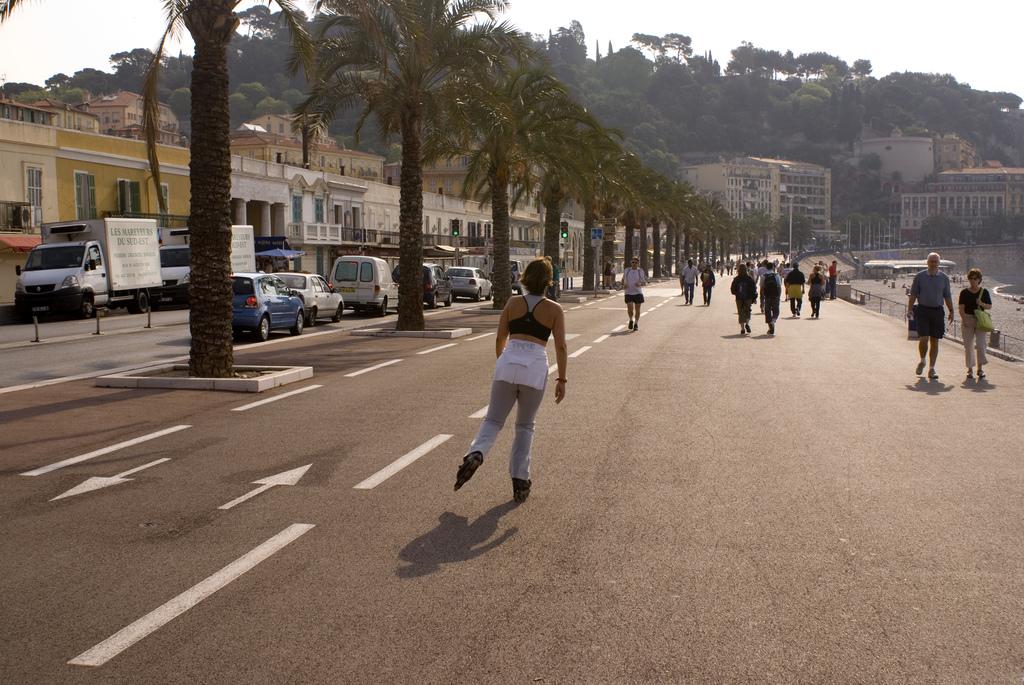 L'eurovélo 8 à petit pas entre Nice et Marina Baie des Anges