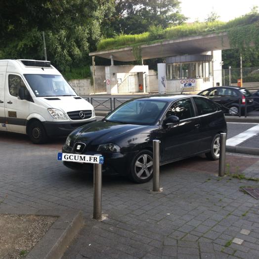 La place de parking à 135 €