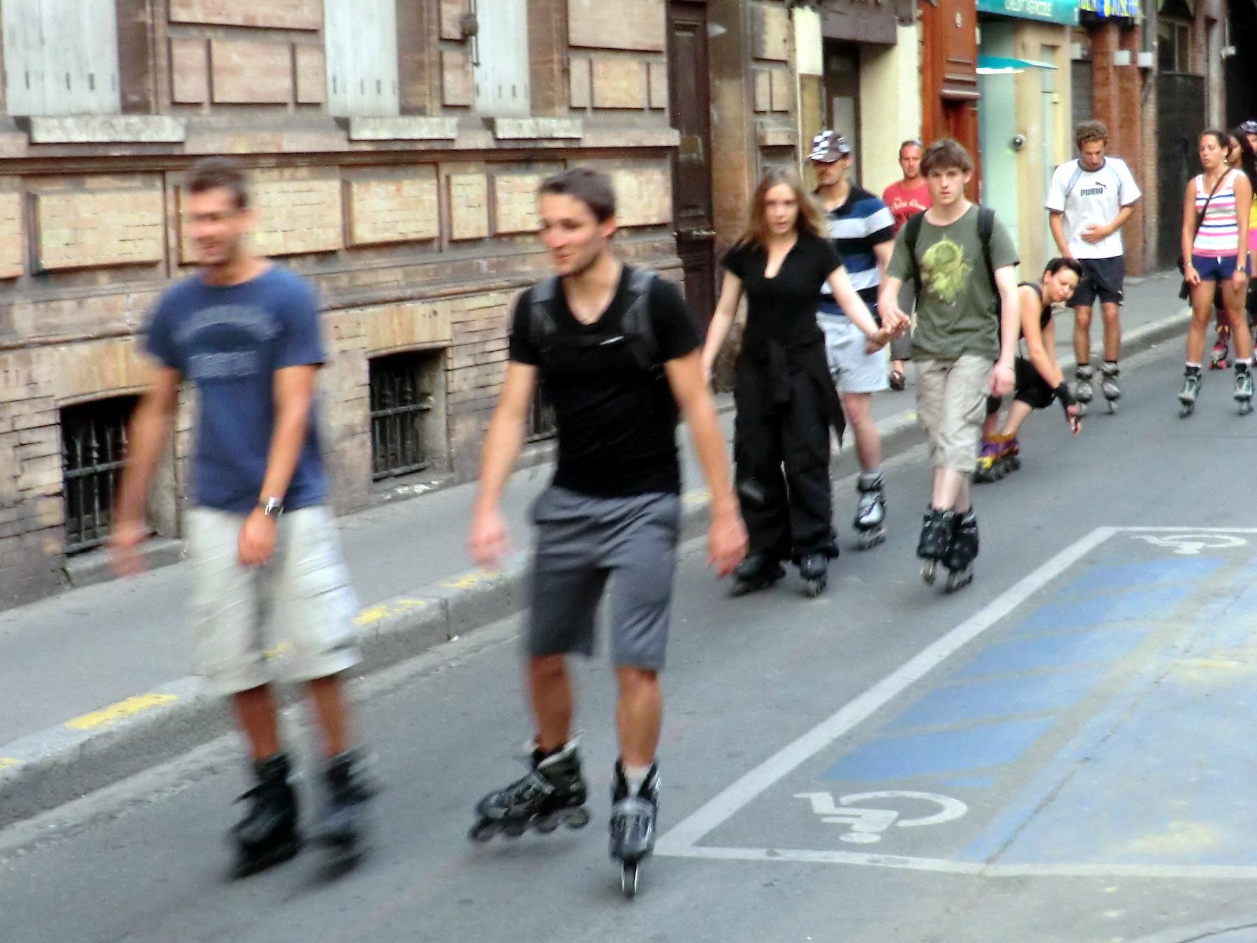 La carte des pistes cyclables de Toulouse (31)