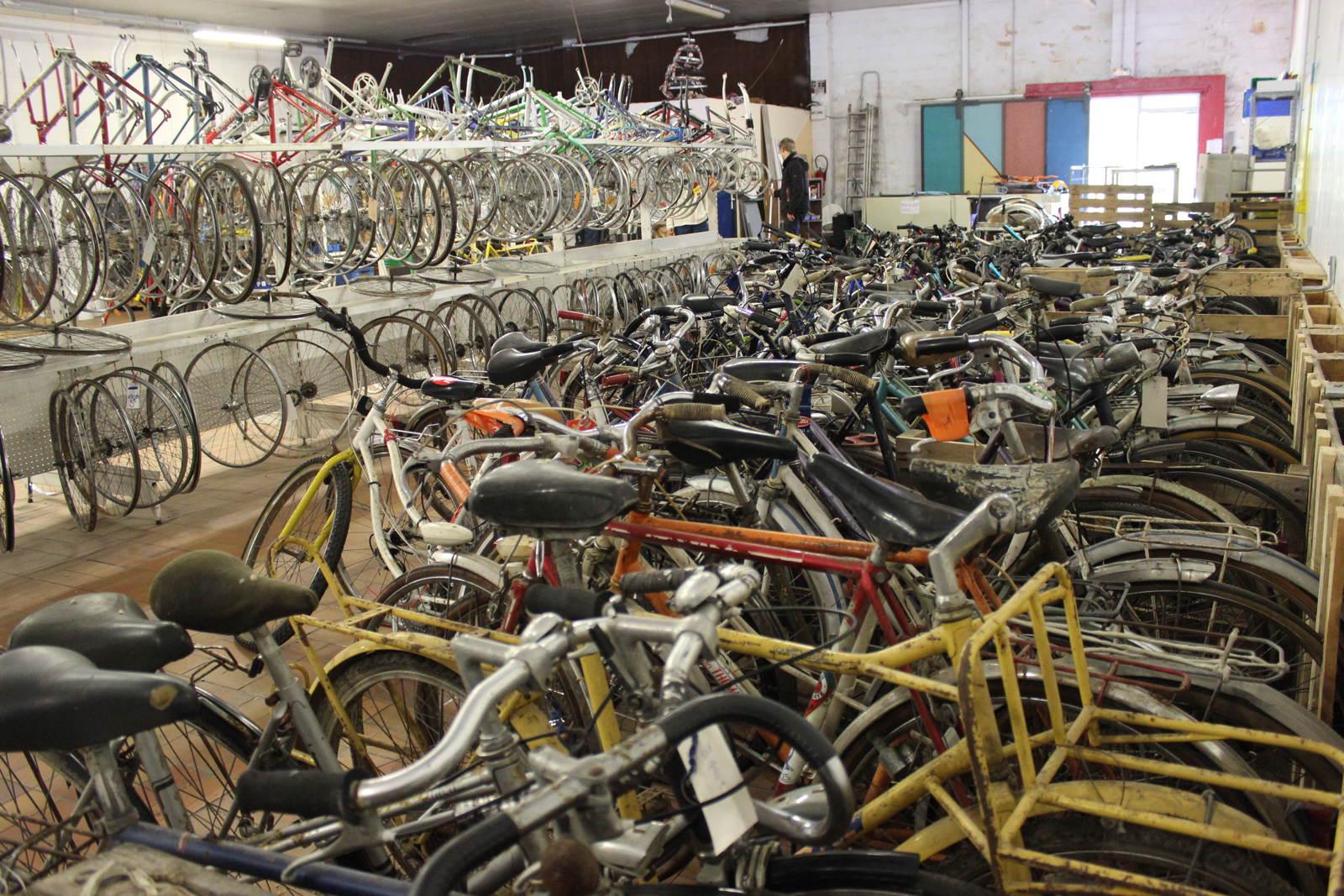 Les ateliers vélos poussent comme des cham-pignons