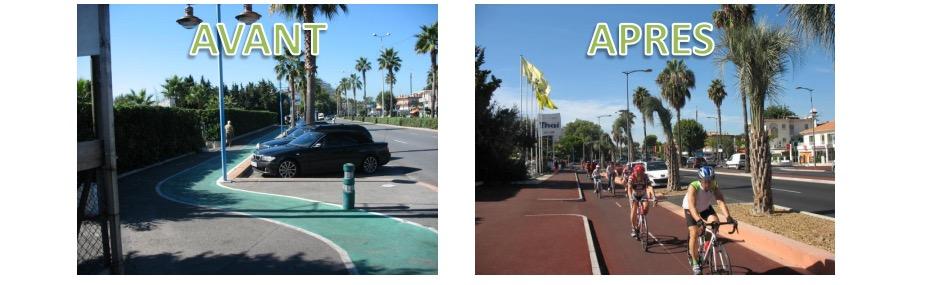 De Nice à Cannes par le Boulevard des Italiens