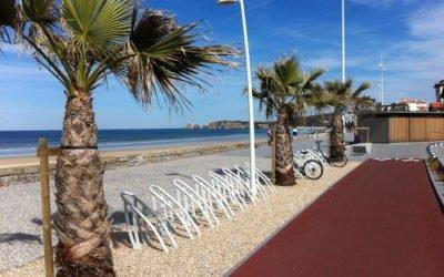 Le bout de l'Odyssée à vélo à Hendaye (64)