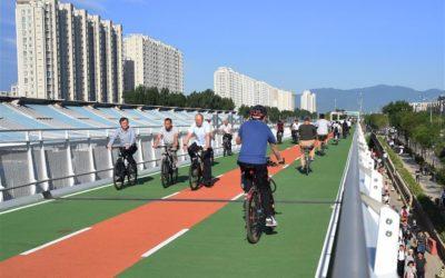 Haut débit sur les pistes à Beijing (Pékin)