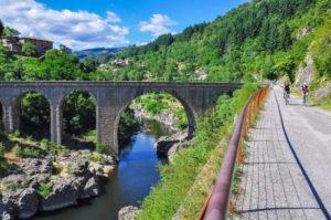 La Dolce Via en Ardèche à vélo
