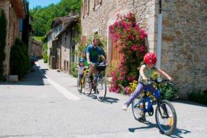 La voie verte «passa païs» à vélo en famille