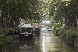 Canal des deux mers de Bordeaux à Toulouse