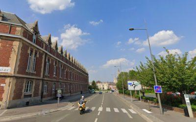 Les pistes cyclables de Cambrai (59)