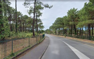 Travaux pour une nouvelle piste cyclable à Anglet